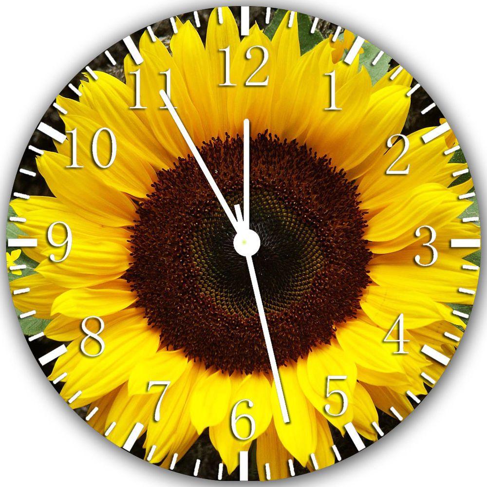New Sun Flower wall Clock 10\