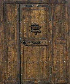 puerta de madera rustica buscar con google - Madera Rustica