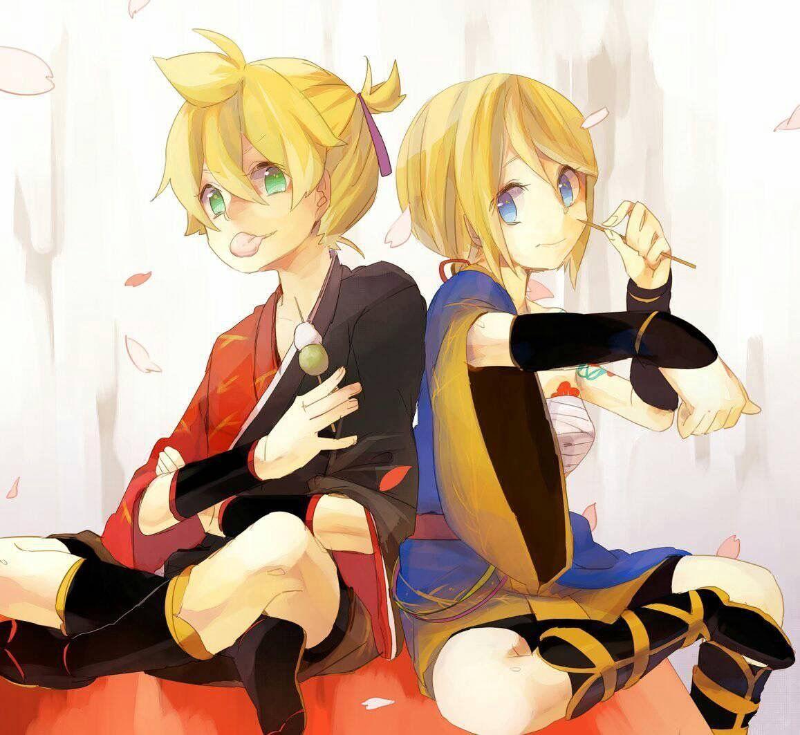 Xả ảnh rin len Vocaloid
