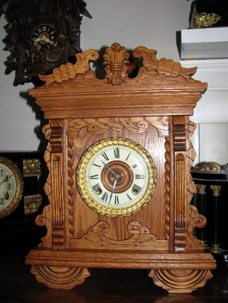 Ansonia mantel clock 1880s any information on model and year of