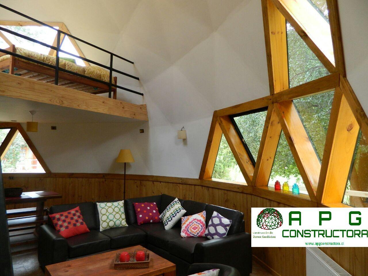 Interior design dome home - Domo Geodesico Casa Buscar Con Google