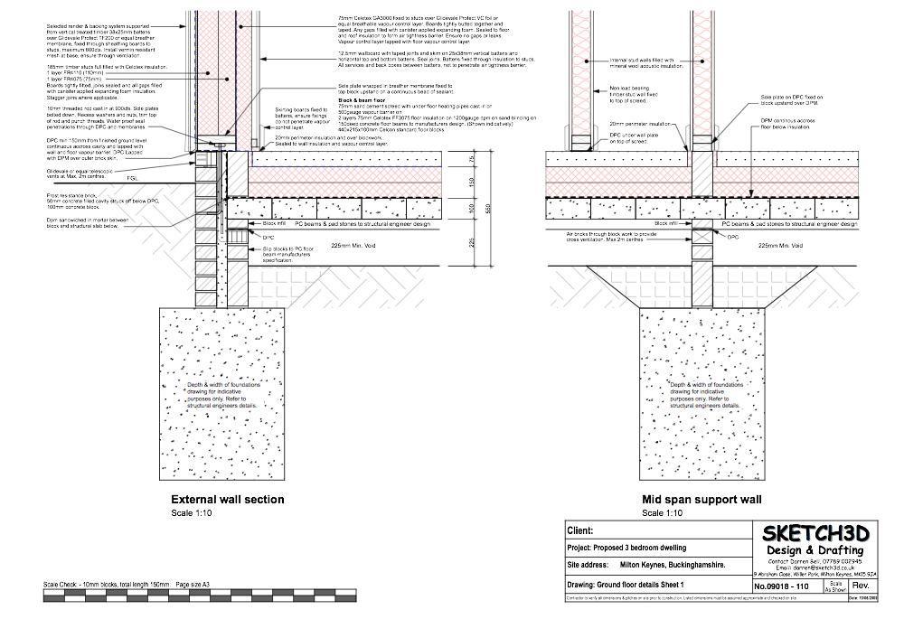 Timber Frame External Wall Construction Details   Viewframes.org