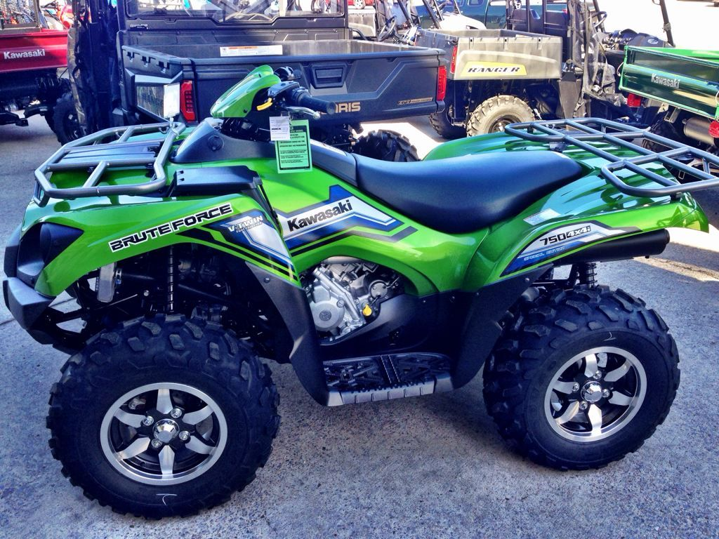 Kawasaki 2014 Brute Force 750 4x4i Eps Kawasaki Atv Quads New Motorcycles