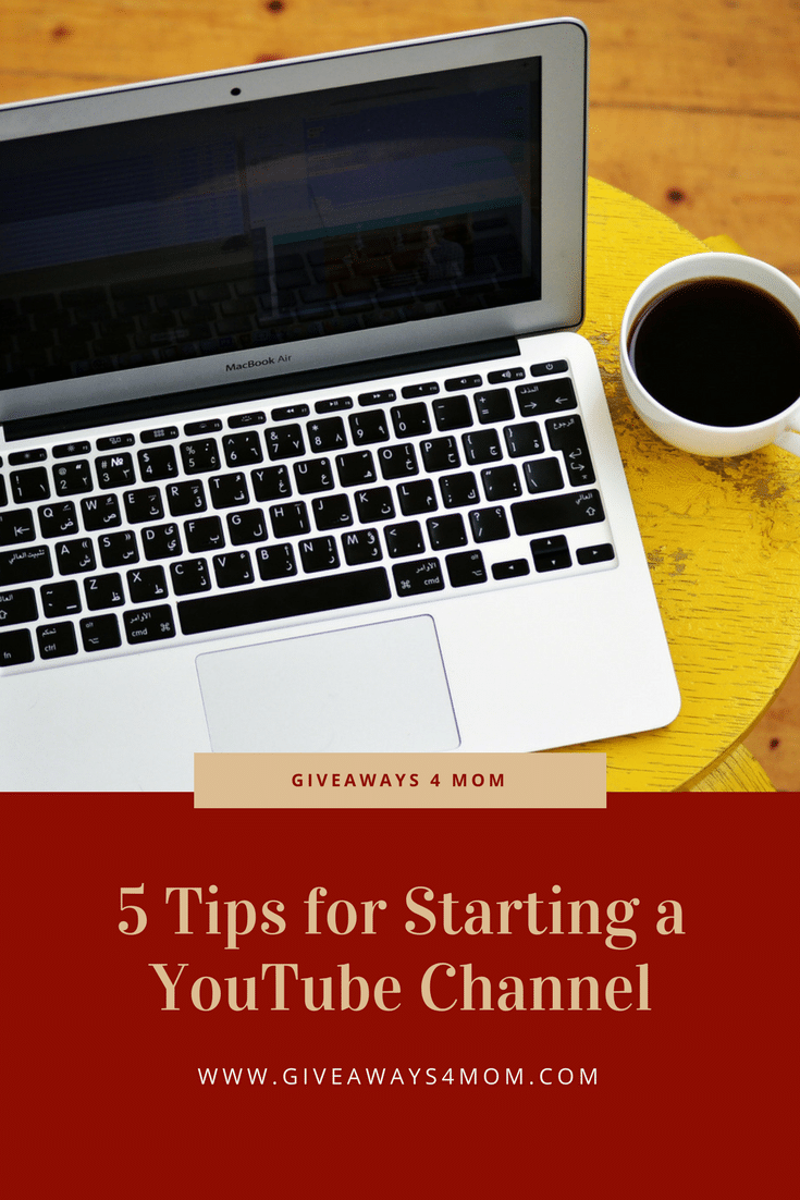 Have you or your kids been wanting to start a YouTube channel? If so, check out these tips from Giveaways 4 Mom that will assist you with doing just that!