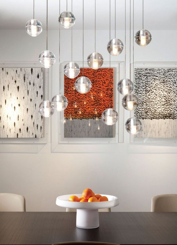 crystal-pendant-lighting-dining-tablejpg (600×827 - elegantes interieur wohnung renovierung london