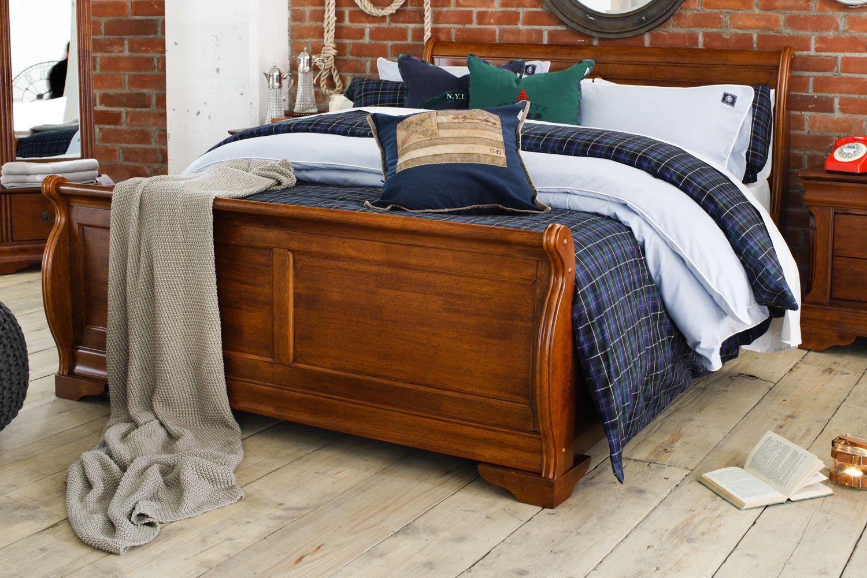 Chardonnay Super King Bed Frame Dark Oak Superking Bed