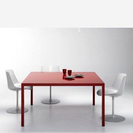 Rechteckiger Tisch aus Messing TENSE MATERIAL Tisch aus Messing