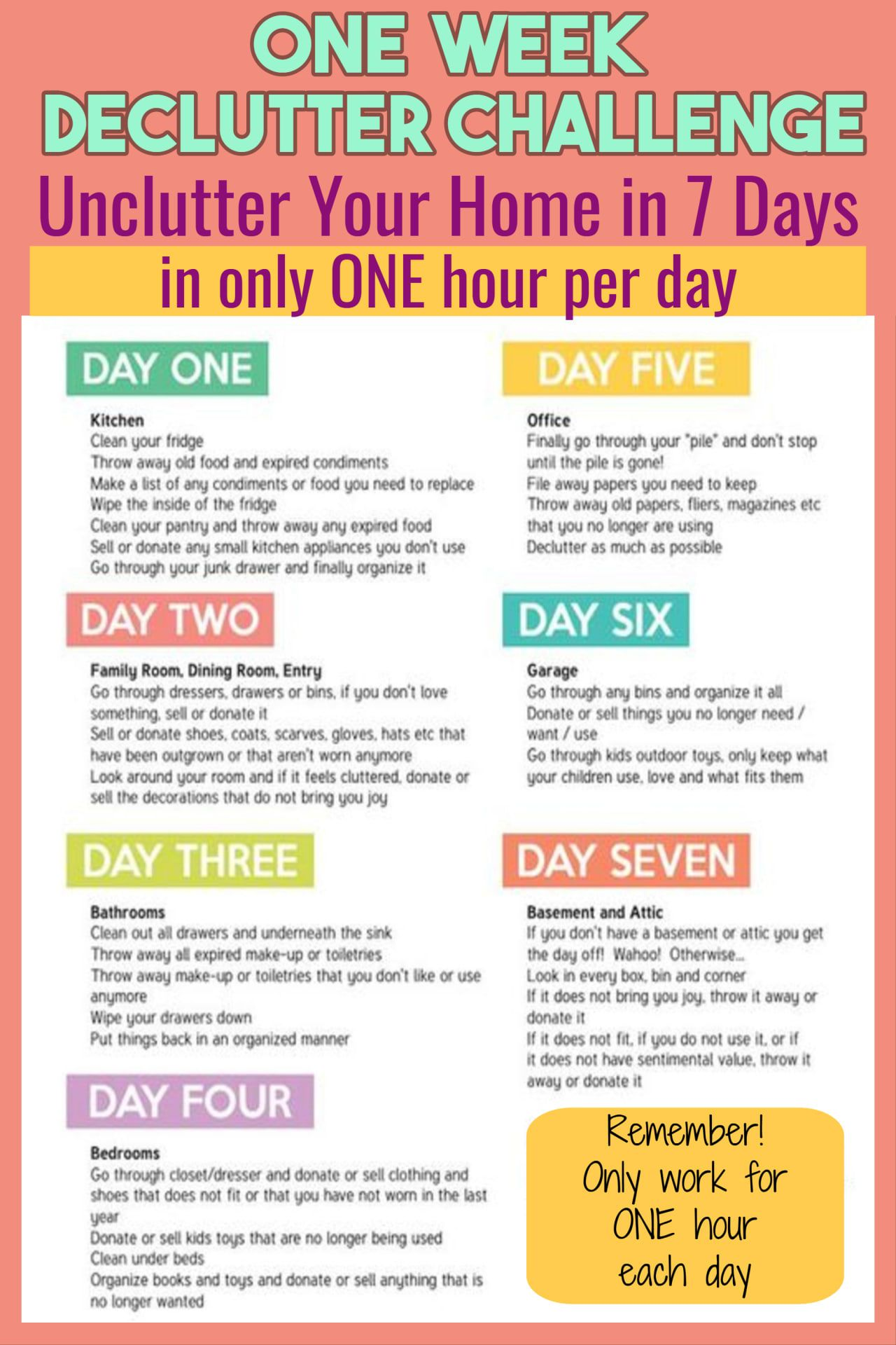 Declutter Your Home Challenge 20 Bags in 20 Days   Does This ...