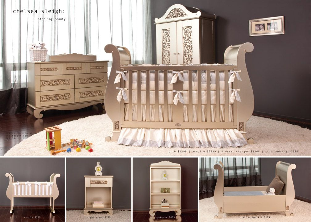 baby crib | designer nursery | luxury crib | Beautiful ...