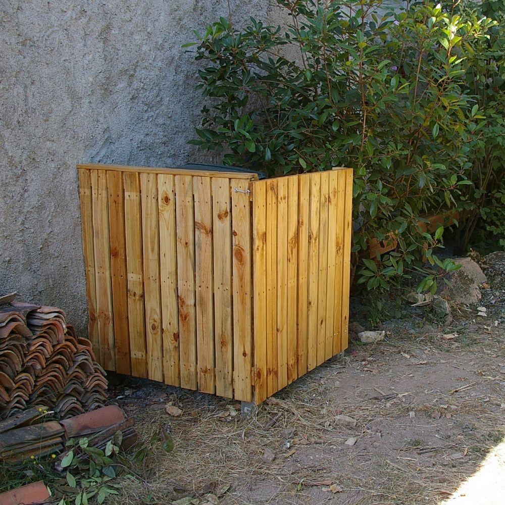 Cache Poubelle Garten Deko Deko