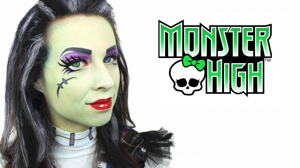 Monster High Face Paint Tutorial | Party Delights Blog