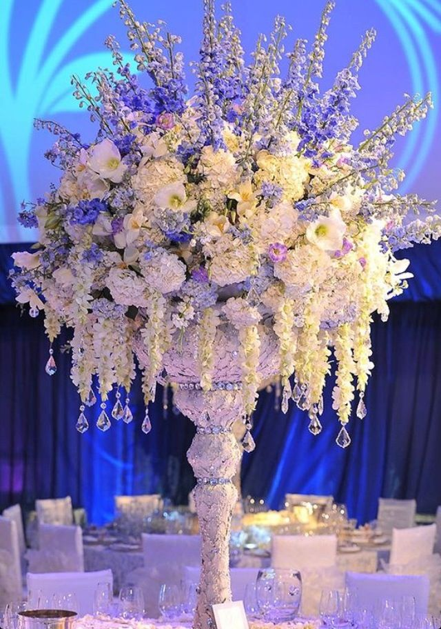 Crystal wedding decorations