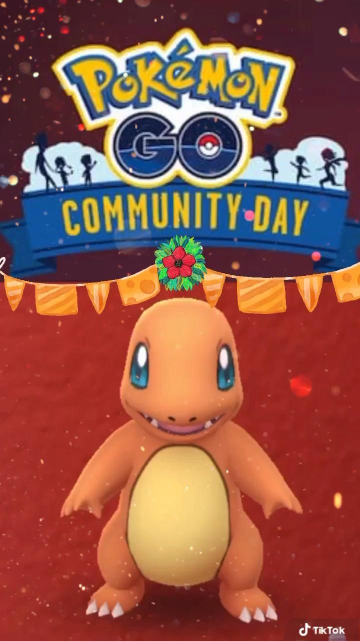 Pokemon Go Charmander Community Day Announced Video In 2020 Pokemon Pokemon Go Charmander