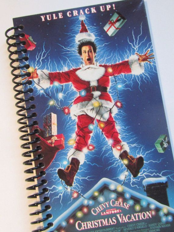 National Lampoon Christmas Vacation Notebook Made From A