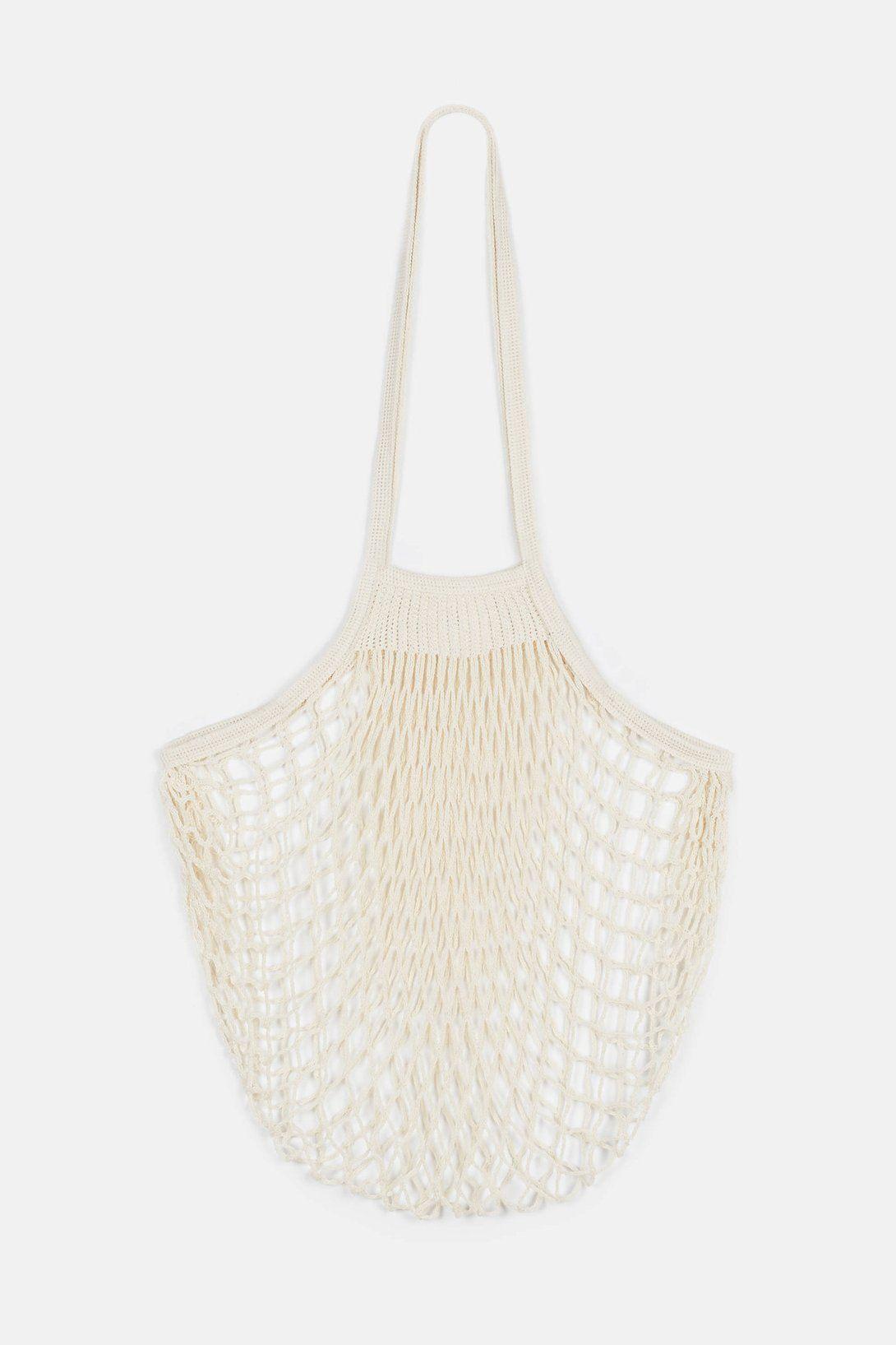 a7d2852f2d2 Filt Large Net Bag - Natural | accessories | Net bag, Bags, Net making