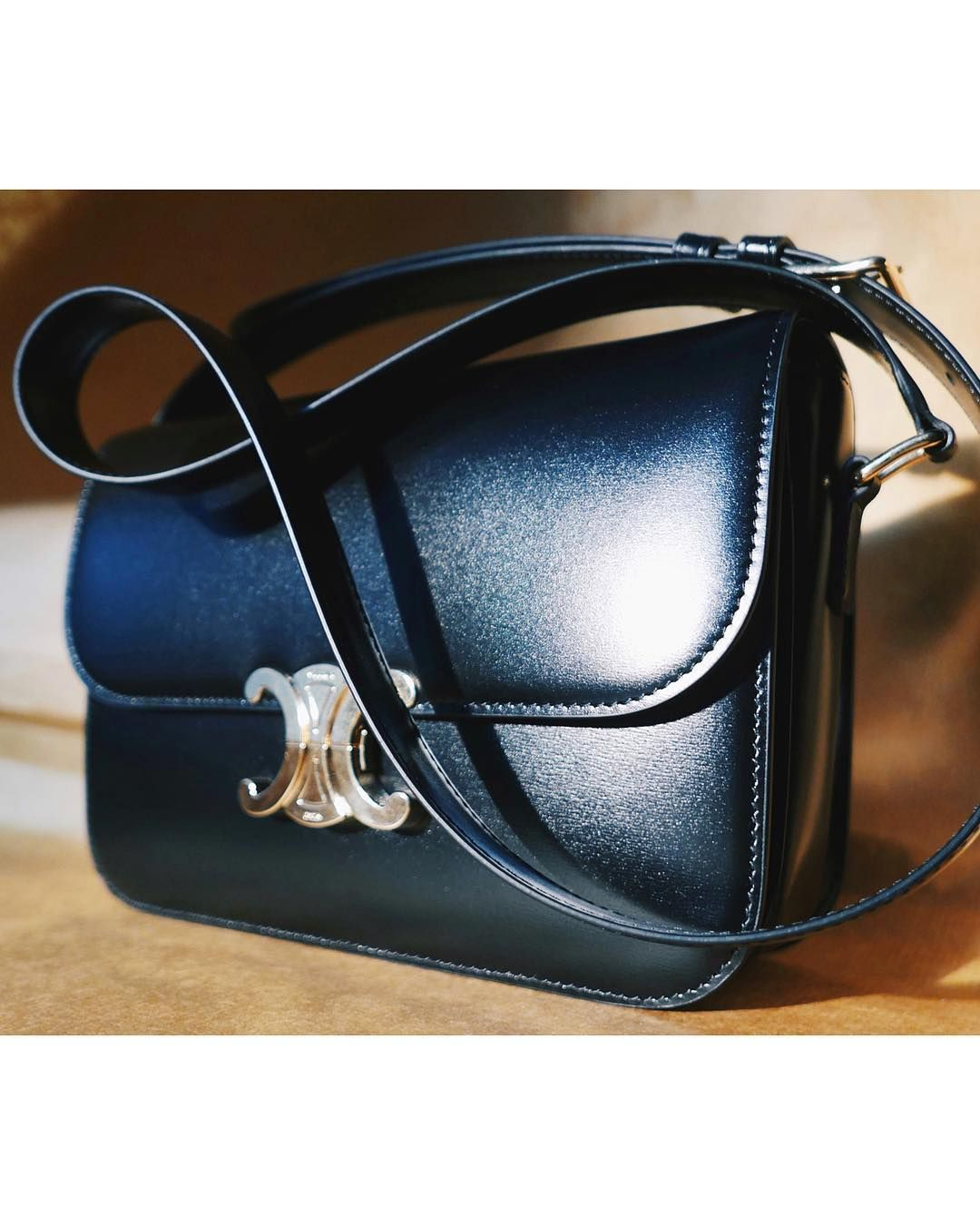 f1ad41977a0a Hand on heart my favourite bag from  celine s upcoming S S19 that will be  available next week. Leather is soft yet slick