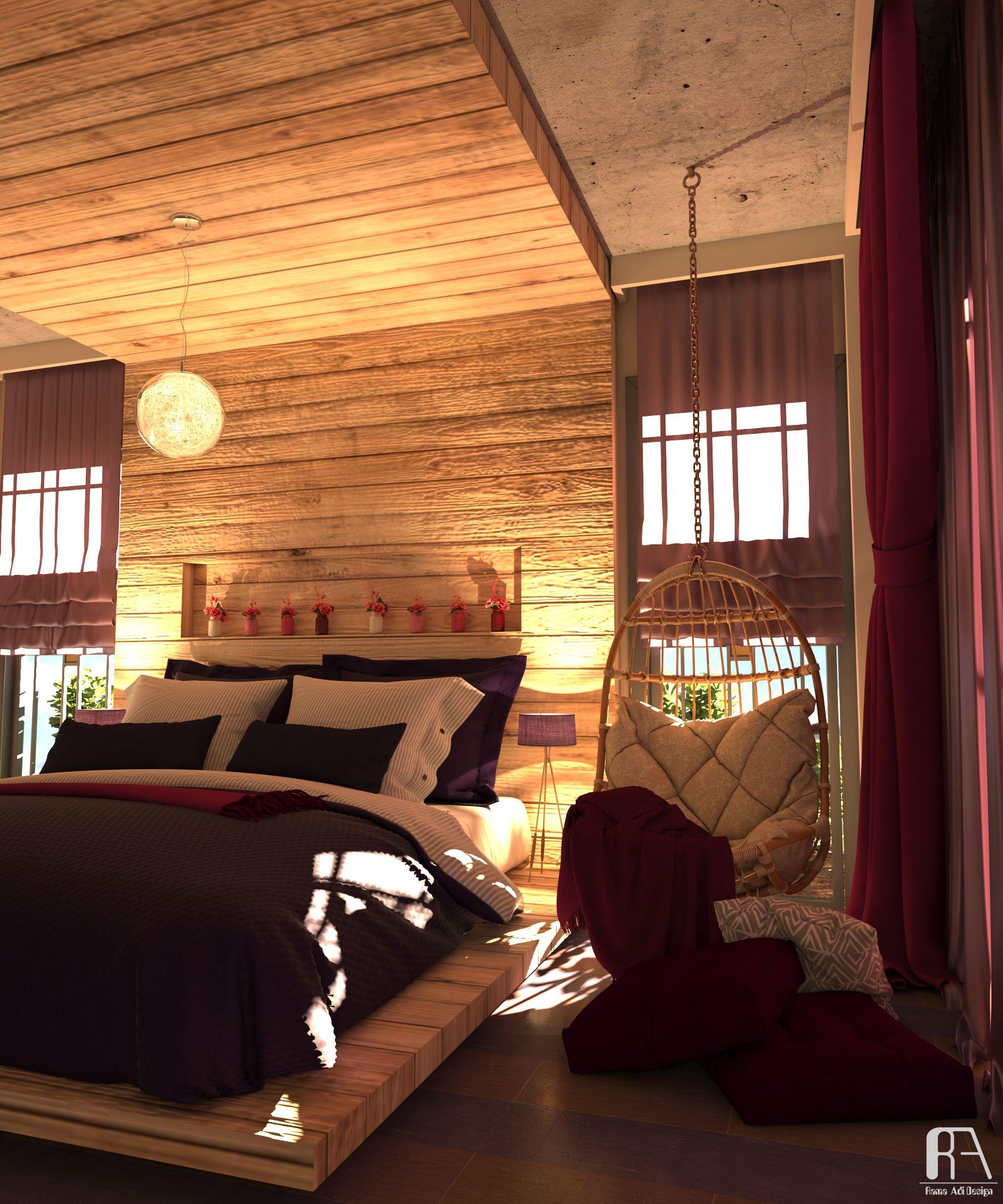 2 bedroom interior design bedroom interior design view  interiordersign dmaxvray render