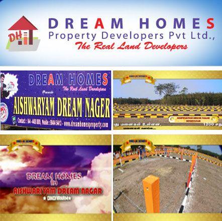 Book your dream home at Aishwaryam Dream Nagar.