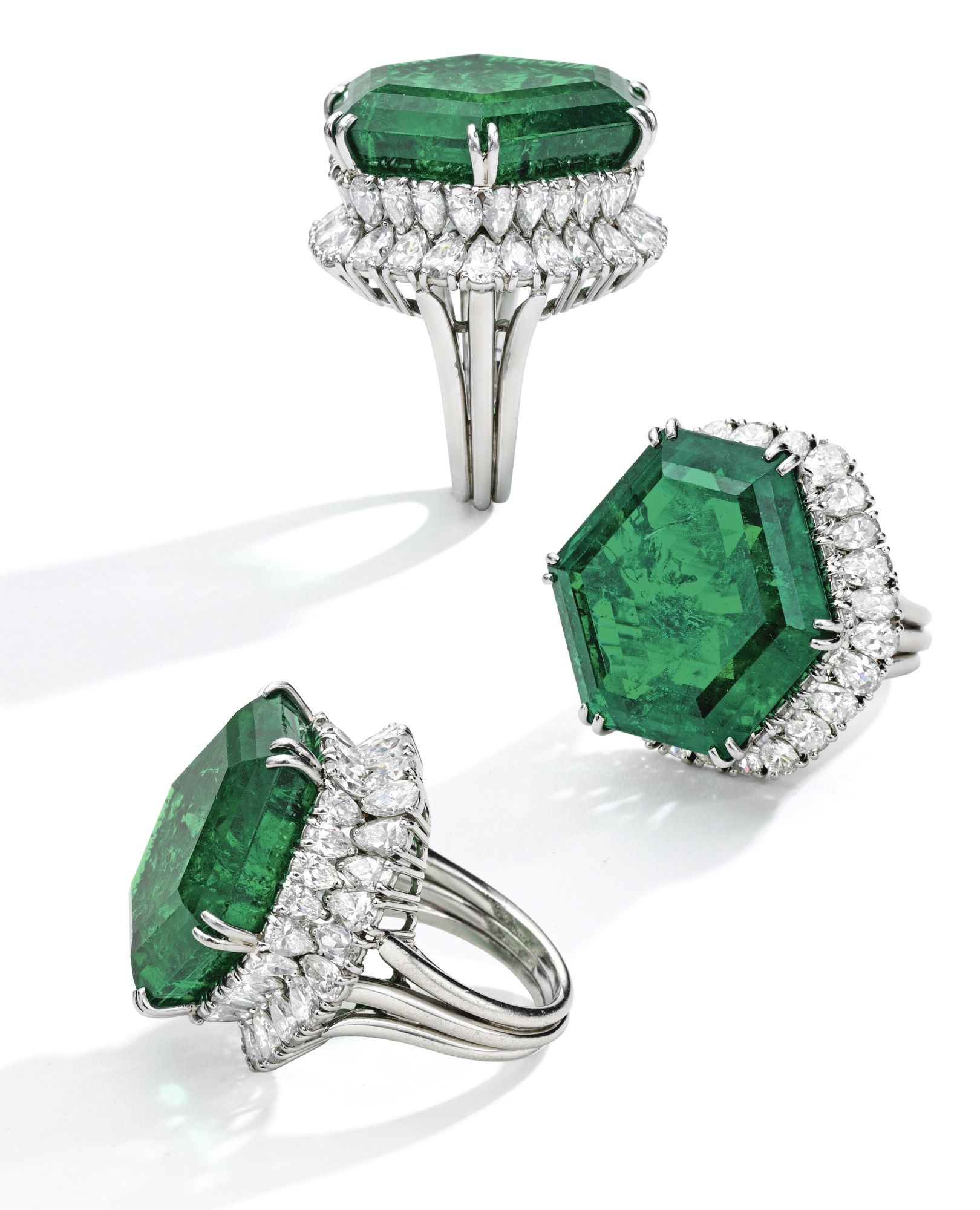 The magnificent and legendary stotesbury emerald platinum emerald