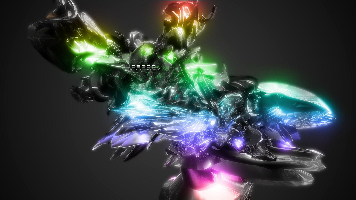 Multicolored Dubstep Wallpaper