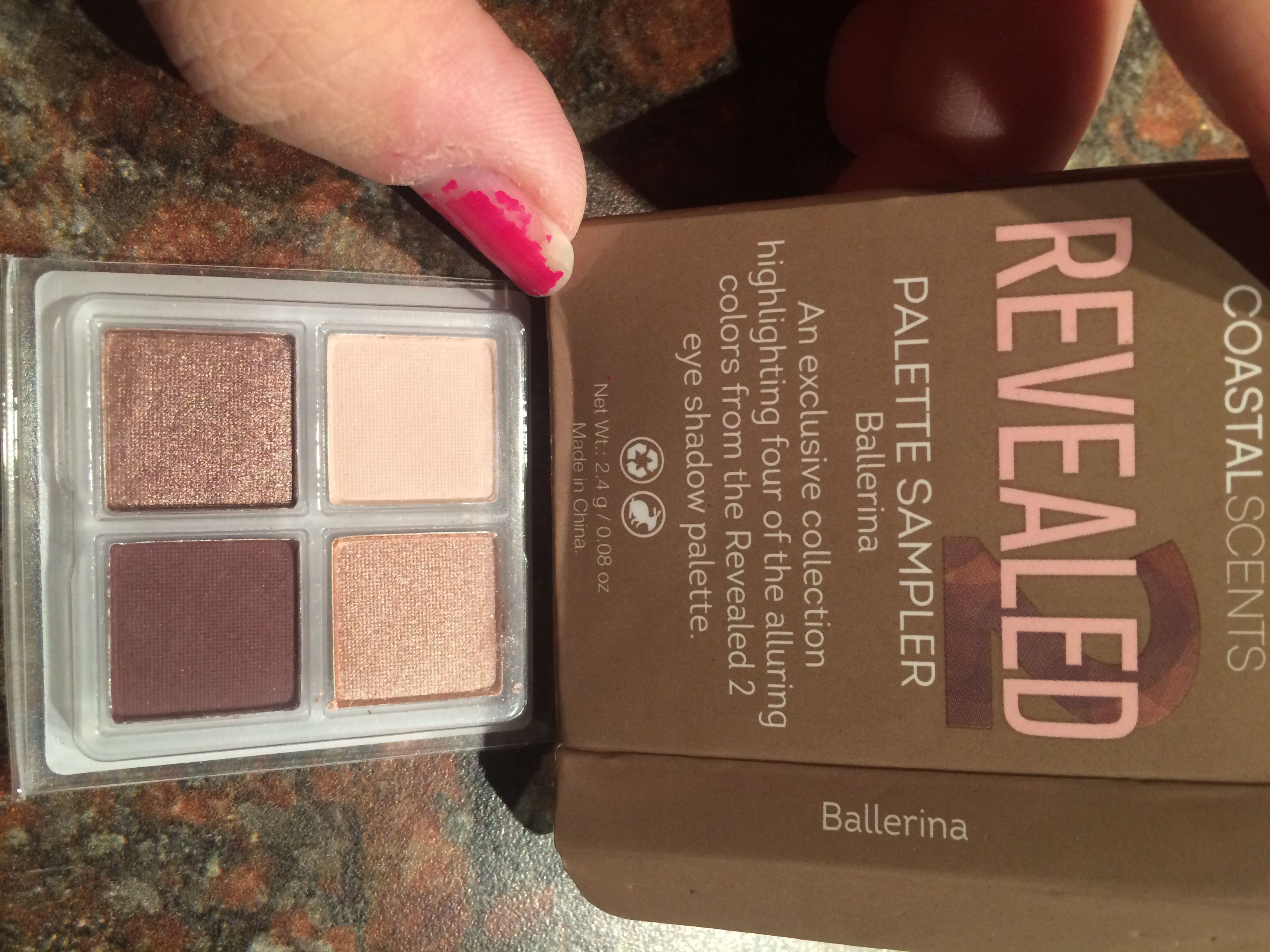 Coastal Scents Revealed Palette Sampler In Ballerina