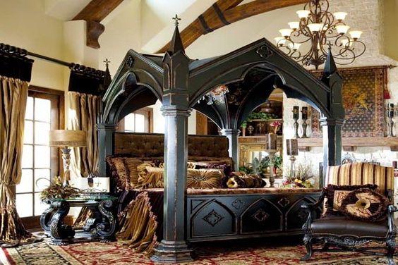 Modern Gothic Interior Design Ideas.http