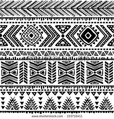 Easy tribal patterns to draw