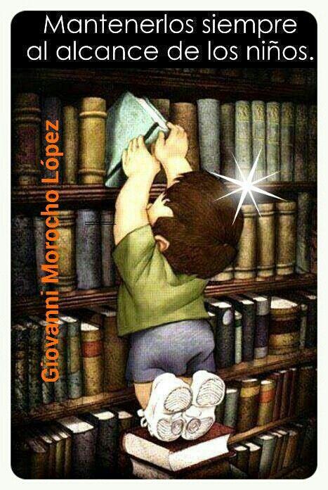 Nutre tus conocimientos, lee libros.