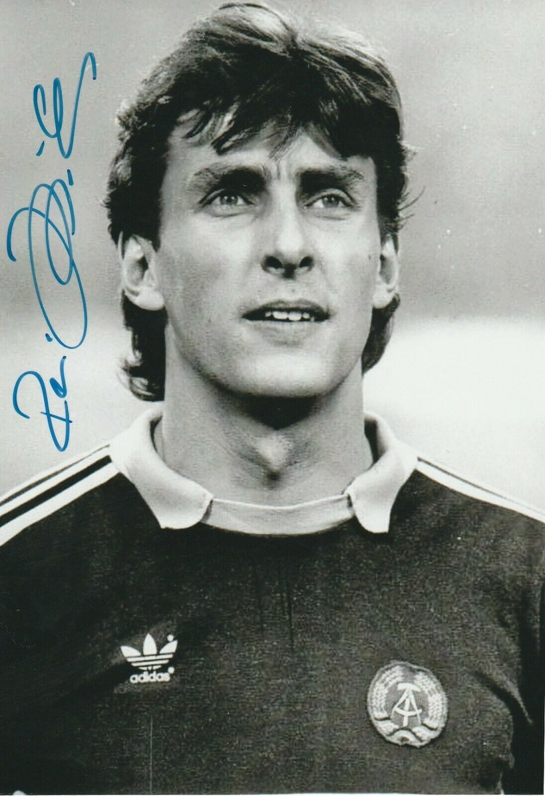 Rene Muller Ddr Nationalspieler Foto S W Signiert Eur 1 00 Orginale Unterschrift Von Rene Muller Ddr Nati Autogramm Ddr Fussball Nationalmannschaft