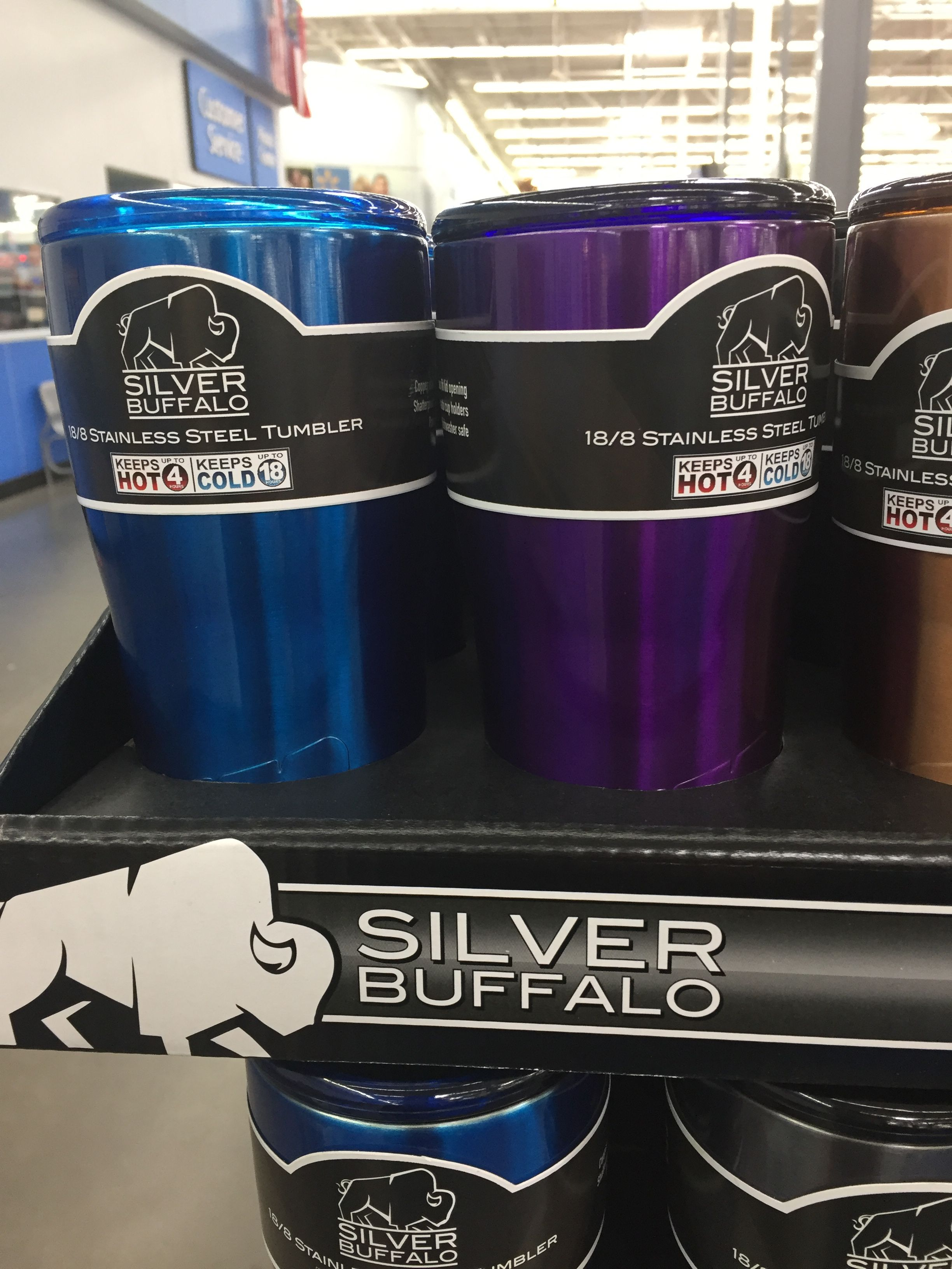 Silver Buffalo insulated cup at Walmart 10 similar to