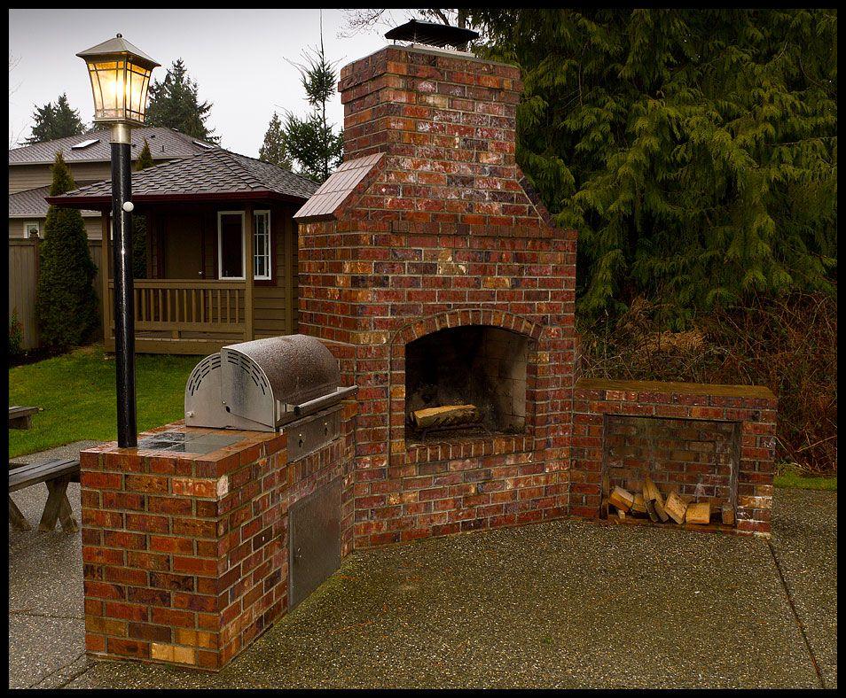 Backyard Brick Barbeques Brick Bbq Brick Grill Backyard