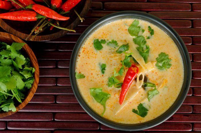 coconut milk soup - looks awesome
