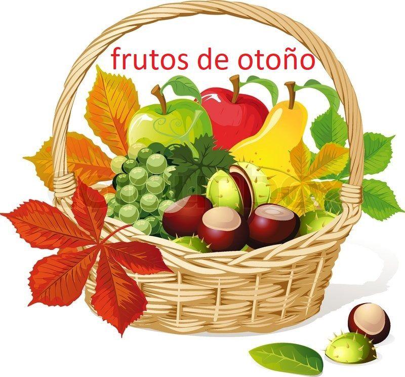 Pin de Mihaella Naum en el otoño Canasta de frutas