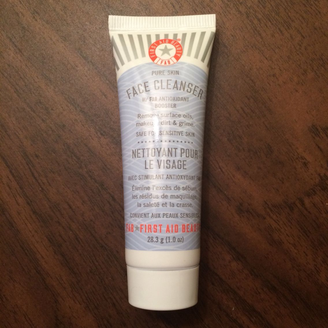 First Aid Beauty Face Cleanser, $4.