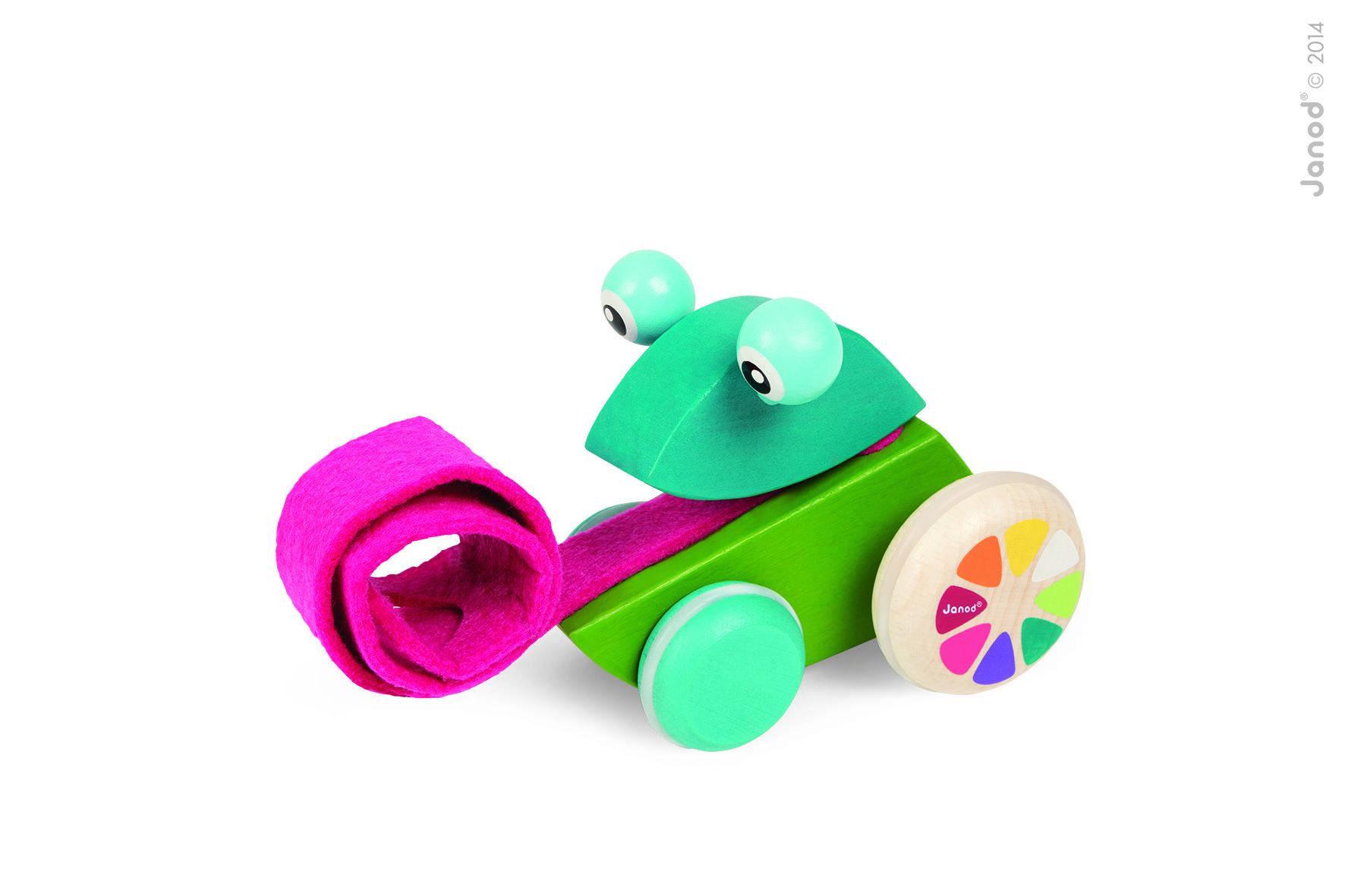Houten Garage Janod : Zigolos kikker janod baby speelgoed houten speelgoed trek
