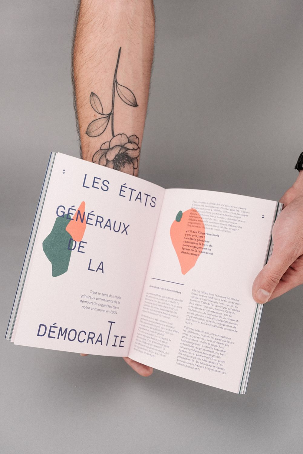 La Relève et La Peste on Behance #editoriallayout