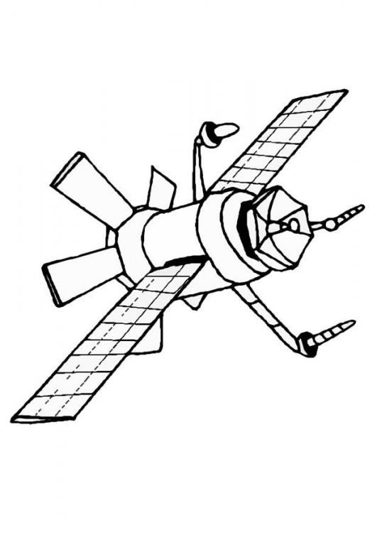 Coloring Page Satellite Img 8865 Coloring Pages Coloring Pictures Color