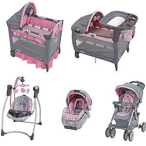 46cc991918 Graco - Ally Collection Baby Gear Bundle Like ONLY the GIRLS PLAYPEN and  perhaps the swing