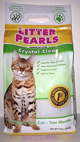 Crystal Clear Litter Pearls Cat Litter By Ultrapet Continue To The Product At The Image Link This Is An Affiliate Li Cat Litter Cat Odor Cat Food Storage