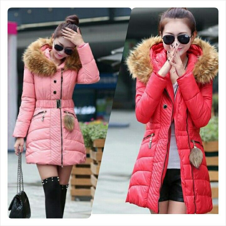 Korean Fashion New Design Warm Long Style Coats