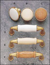 polished brass/white know $2.7