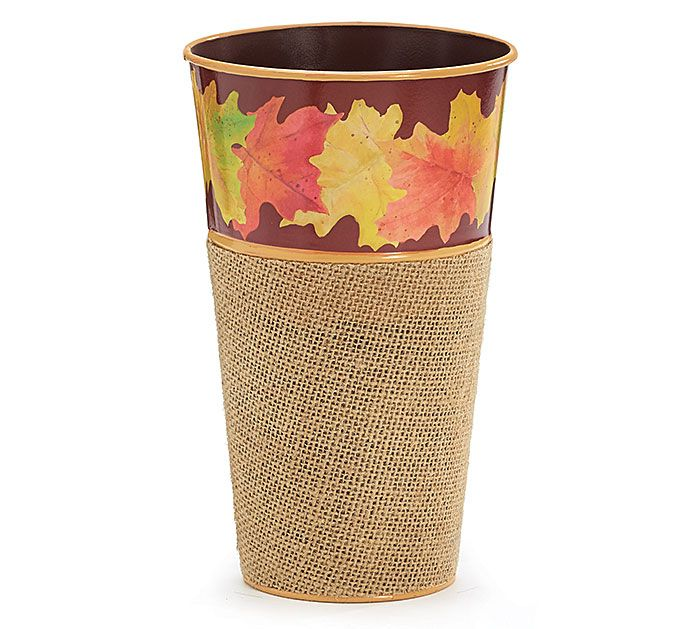 Our Autumn Leaves Tin Vase 1536246 Was Featured In The October