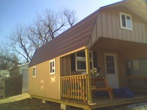 The Tiny House Shed: 10 Tiny Houses Made from Converted Sheds #tiny house design sheds Converting a Storage Shed into your Tiny Home to Save Time & Money #tinyhousestorage