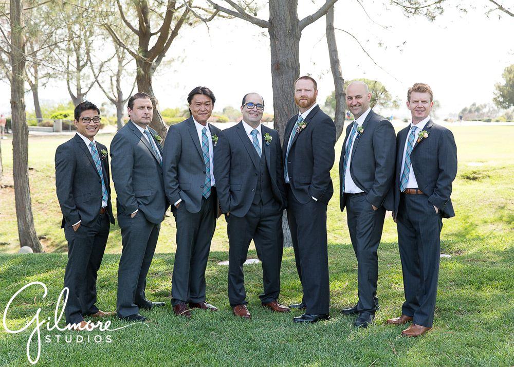 Groom & the Groomsmen | groom, best man, groomsmen, dark gray ...