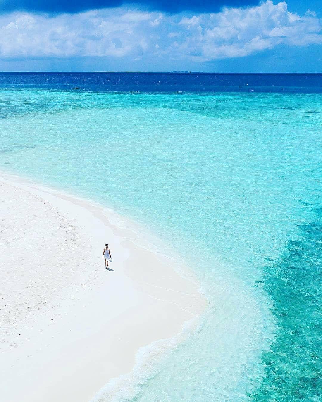 Maldives Beach: The Maldives Islands #Maldives In 2019