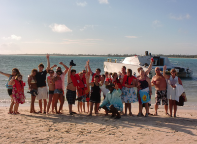 All-Inclusive Day Away Power Boat Beach Party Cruise from Freeport
