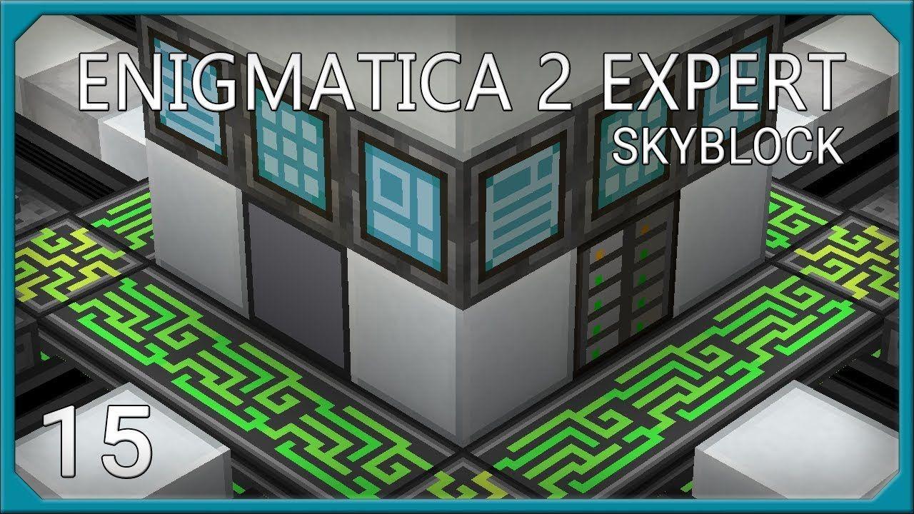 Enigmatica 2 Expert Skyblock EP15 Mekanism D T Fuel