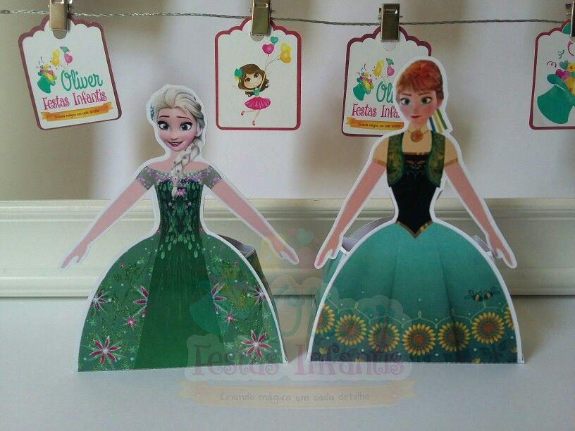 Elsa e Ana Frozen Fever by Oliver Festas Infantis