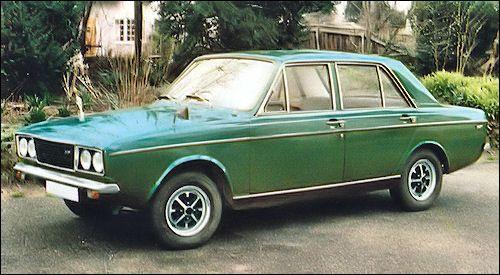 1973 Hillman Hunter GLS