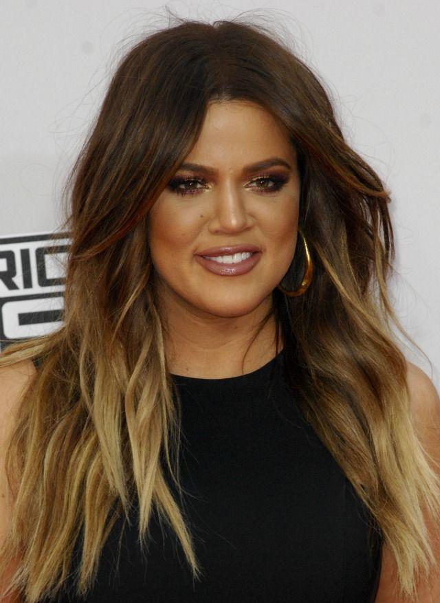 Khloe Kardashian Ombre Hair Hair Pinterest Khloe Kardashian